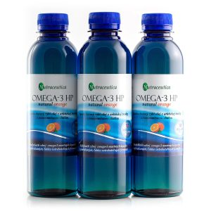 Nutraceutica Omega-3 HP natural orange Výhodné balenie