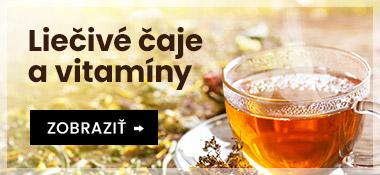 Úvodný banner Liečivé čaje a vitamíny